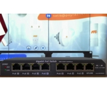 PN-LINK GPOES-8-7 Gigabit PoE Switch