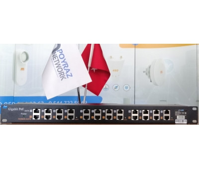 PN-LINK Poe Incejtor 12 Port Gigabit